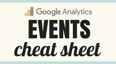 GA events cheat sheet image