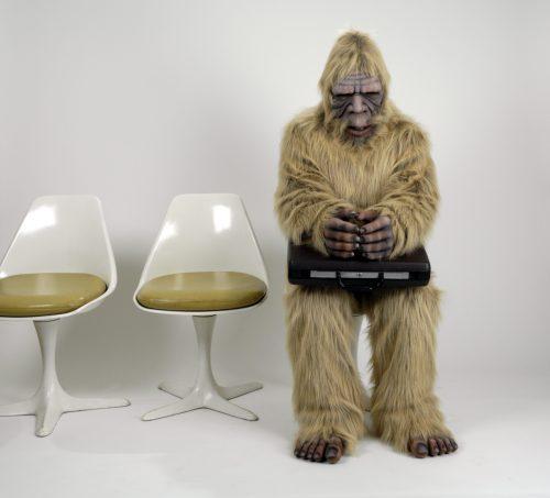 SEO-squatch: Sasquatch waiting for a SEO interview