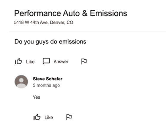 performance auto simple answer