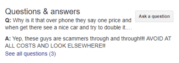scammer answer