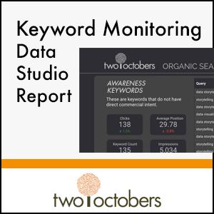 free keyword monitorig data studio