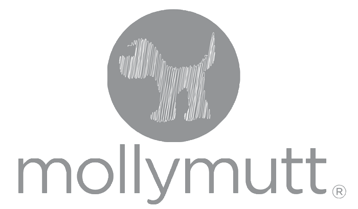 molly mutt logo grey
