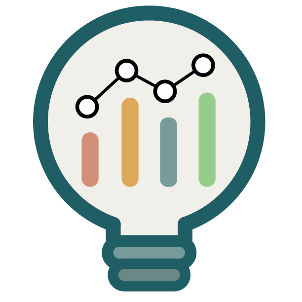 analytics insights monitoring icon