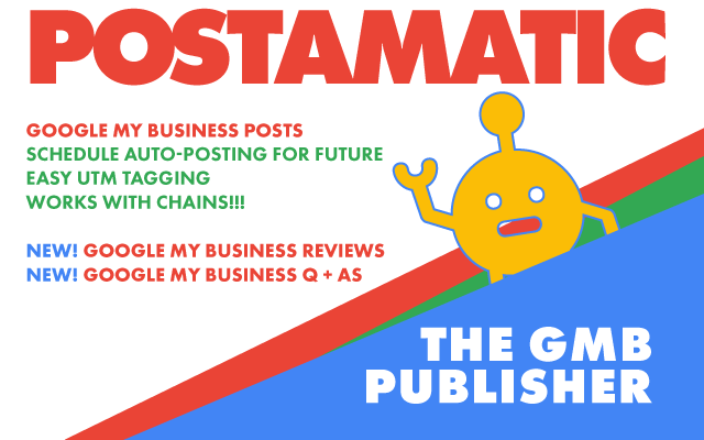 postamatic tool for google my business card